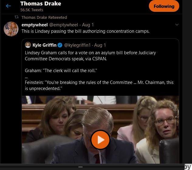 Lindsey Graham Signing Fema Camp Orders for Americans